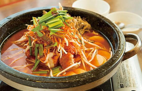韓国風牛もつ鍋3人前 2,700円